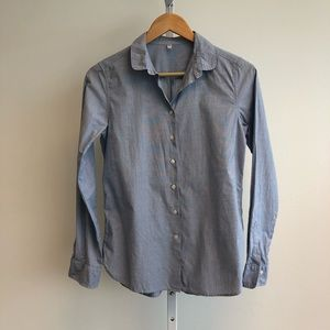 MUJI Round Collar Button Up